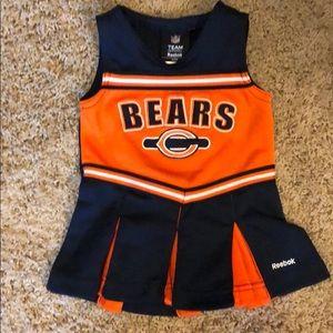 Reebok Bears cheerleading skirt